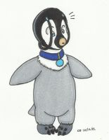 Commission: Katara penguin, post TF by cqmorrell