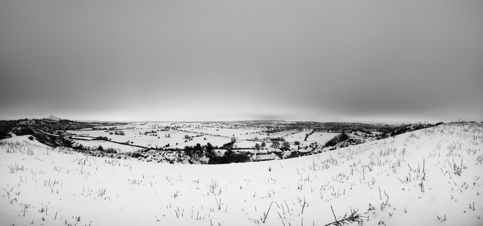 The Moors in Black and White by diiscovery
