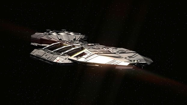Newest version of my Galactica higher detailed by genchang2112