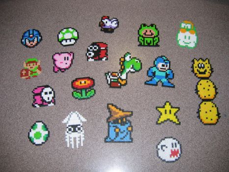 Bead Sprite Collection by xdavexdewx
