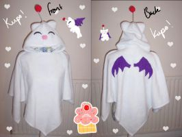 kupo kupo moogle poncho by neko-crafts