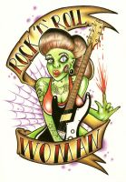 Rock n Roll Woman by itchysack