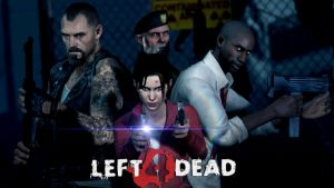 Left 4 Dead art by DP-films