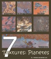 7 Textures: Planetes by KWstock