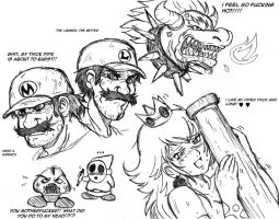 Mario Brothers and Company by ViperXtreme