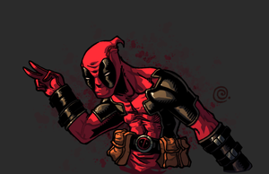 Deadpool by redeve