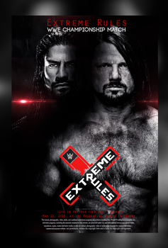 AJ Styles vs Roman Reigns - Extream Rules by WeeDyZz