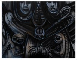 Death tribute I by GTT-ART