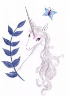 The last Unicorn - Butterfly by Neri-chan