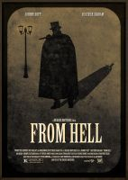 From Hell Poster by JustHunt