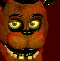 Withered Freddy WIP by Mistberg