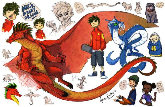 American Dragon by Turtle-Arts