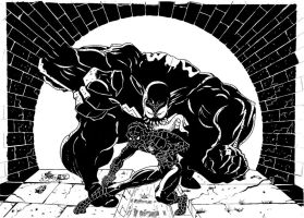 SpideyvsVenom by androsm