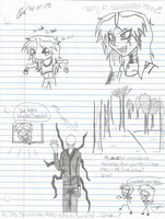 Slender The Arrival Doodles by ritsukuze