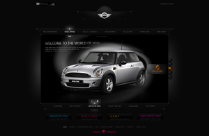 Mini Cooper by waseemarshad