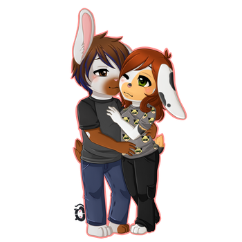 Commission: Nathan x Lauren by Cera-Miaw