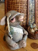 Grumpus the collector - SOLD by Mel2DaIssa
