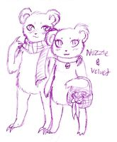 Cupcakes and Bears by FuneralDyingheart