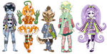 Halloween Adopts by Czhe