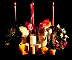 Beltane Altar by El-Sharra