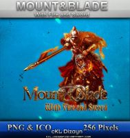 Mount Blade Fire Sword ICON by cKL-Design
