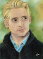 Carlisle Cullen pastel drawing by Meggy-MJJ