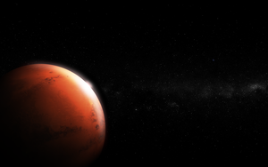 Mars - The Red Planet by salmanarif