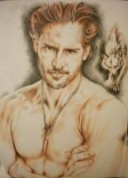 true blood alcide lycan by NyoDueZeroDue