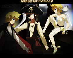 KH-Happy Halloween II by ViChaN91312