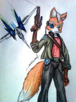 Reworked Fox McCloud by sharpshooter2008