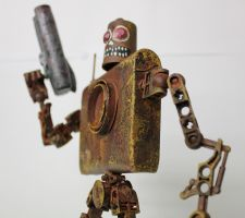 assemblage zombie soldier by rupertvalero