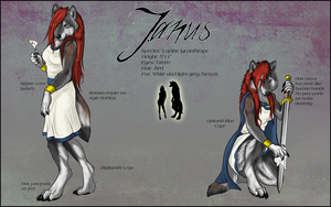 Janus Character Sheet by sugarpoultry