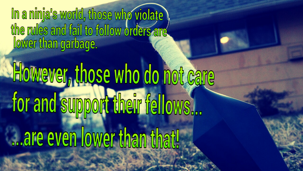 Those Who Do Not Support Their Fellows by daisyfairy42
