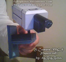 MGS2 Surv. Camera Papercraft by dgBigBoss
