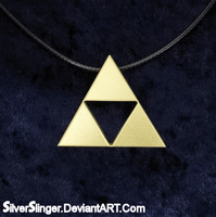 Triforce Pendant by SilverSlinger