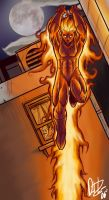 The Human TORCH by narutowannabe