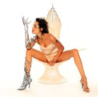 Angelina Jolie Witchblade by KaitlinTraver
