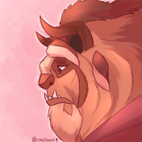 For Who Could Ever Love A Beast by Shellsweet