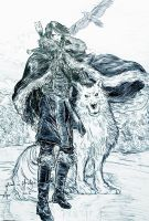 Lord Snow by fish-in-fridge
