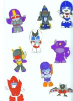 Chibi Transformers 1 by Kage-Jaganshi