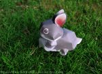 Papercraft: Rabbit by OsakiSasha