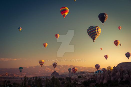 Balloons 1 by Inlakechh