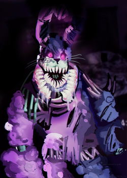 Twisted Bonnie || FNaF - The Twisted Ones by Pasmical