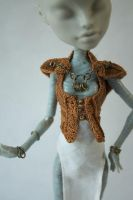 'warrior'  front - Monster High outfit by New-Plymouth