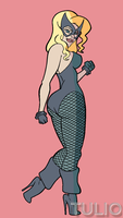 BlackCanary17C by TULIO19mx