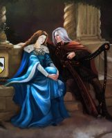 Lyanna and Rhaegar II (A song of ice and fire) by JunePage