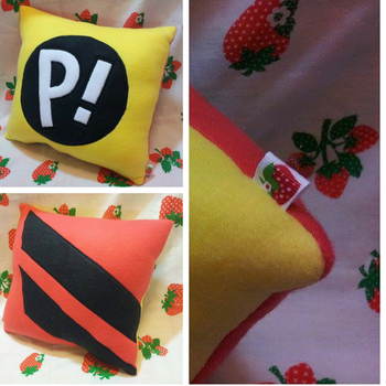 Haruko Pillow by SillinessofSewing