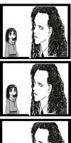 Pete Burns and Osaka 4koma by Lurkerbunny