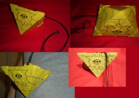 Cosplay Craft: Yu-Gi-Oh! Millenium Puzzle Necklace by KunoichiAyu