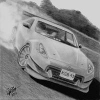 370z Fairlady drift car by coxzee